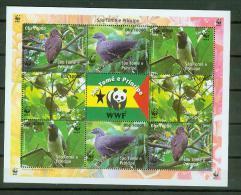 S.Tome E Principe 2005,1 Block,WWF,birds,pajaros,v ögel,MNH/Postfris, (L3465) - Oiseaux