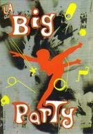 """Carte Postale """"Cart'Com"""" (1999) - La Lune Rousse & L'Elysée Montmartre Présente : La Big Party - Danse"""