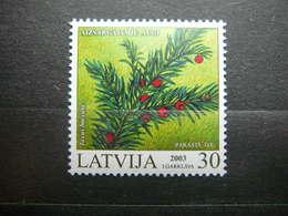 Protected Plants Of Latvia # Latvia Lettland Lettonie # 2003 MNH # Mi. 588 - Lettonie