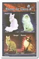 Peru 2007, Postfris MNH, Cats - Peru