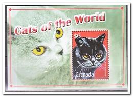 Grenada 2008, Postfris MNH, Cats - Grenada (1974-...)