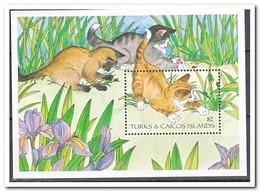 Turks & Caicos 1995, Postfris MNH, Cats - Turks- En Caicoseilanden