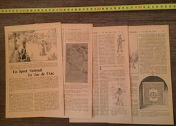 ENV 1900 SPORT NATIONAL LE JEU DE L ARC CONCOURS TIR ARCHER ETC... - Vieux Papiers