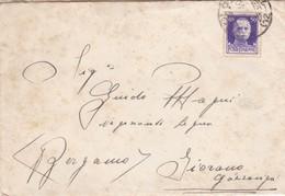 BUSTA VIAGGIATA - ODOLO ( BRESCIA) - VIAGGIATA  PER GAZZANIGA (BERGAMO) - 1900-44 Vittorio Emanuele III
