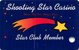 Shooting Star Casino MN -  BLANK 1st Issue Slot Card  ...[RSC]... - Casino Cards