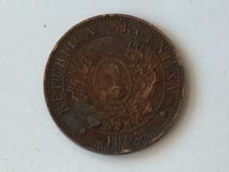 ARGENTINE DOS 2 CENTAVOS 1893 - Argentine