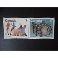 N°  713 à 714 Neuf ** - Les Inuits, Le Gite - 1952-.... Règne D'Elizabeth II