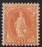 Schweiz, 1905, 86A**, Stehende Helvetia, Siehe Scan! - 1882-1906 Armoiries, Helvetia Debout & UPU