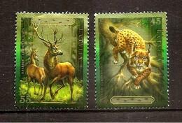 2006  Latvia LETTLAND  - Deer-Stag- LYNX  WILD ANIMA 2006  USED (0) - Lettonie