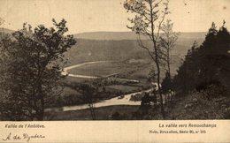 La Vallée De L'Amblève  LA VALLEE VERS REMOUCHAMPS - Bélgica