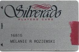 Silverado Casino Deadwood SD - 1st Issue Glittery Slot Card With Signature Strip & Ribbon ...[RSC]... - Casino Cards