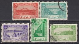 IRAN 1942 - MiNr: 746 - 759   Lot 5x   Used - Iran