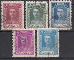 IRAN 1942 - MiNr: 760 - 779   Lot 5x   Used - Iran