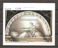 Biglietto - 2005 PARMA Camera Di San Paolo, Affreschi Del CORREGGIO - Biglietti D'ingresso