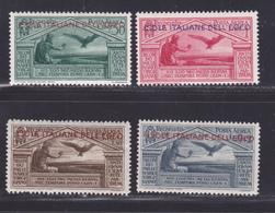 EGEE AERIENS N°   4 à 7 ** MNH Neufs Sans Charnière, TB (D8722) Virgile - 1930 - Egeo