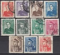 IRAN 1952 - MiNr: 846 - 863   Lot 11x   Used - Iran