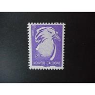 Timbre N° 993 Neuf ** - Oiseau. Le Cagou - 5 F Violet - Nieuw-Caledonië