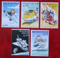 BELGICA 2006 Space OBC N° 3368-3372 (Mi 3416-3420 Bl 102) 2005 POSTFRIS MNH ** BELGIE / BELGIEN / BELGIUM - Belgien