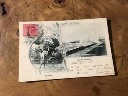 283/ GINRICKSHA COLOMBO BREAKWATER - Sri Lanka (Ceylon)