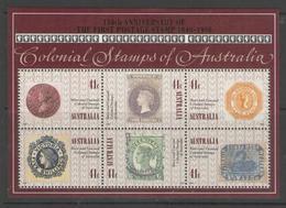 AUSTRALIA, 1990, Penny Black 6v M/s  MNH - 1990-99 Elizabeth II