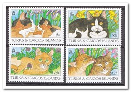 Turks & Caicos 1995, Postfris MNH, Cats - Turks & Caicos (I. Turques Et Caïques)
