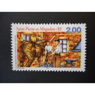 Timbre N° 690 Neuf ** - Le Maréchal-ferrand. Au Travail - St.Pierre Et Miquelon