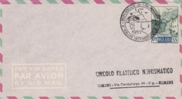 BUSTA 1959 REP.SAN MARINO MOTOCICLISMO 55 L. POSTA AEREA (EX236 - Saint-Marin