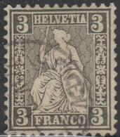 Schweiz, 1862, Geneve, 29, Sitzende Helvetia, Siehe Scan! - Used Stamps