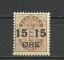 Denmark 1904 - Mi. 41, MNH (**) - Nuovi