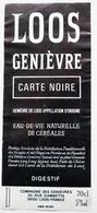 Etiquette De GENIEVRE De LOOS Carte Noire   / étiquette Label /A4 - Etiquettes