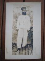 Photo Zouave, Médaille De Crimée. - Documents