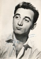 Autographe Charles AZNAVOUR - Artiesten