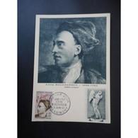 Carte Postale Premier Jour De 1962 - Cartes-Maximum