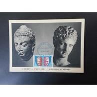 Carte Postale Premier Jour De 1965 - Cartes-Maximum