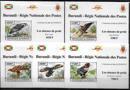 BURUNDI Epreuve Luxe N° 2166/69  BF 381  * *  NON DENTELE Oiseaux Rapaces Aigles - Aigles & Rapaces Diurnes