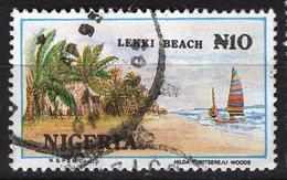 Nigéria, Timbre Oblitéré, Lehki Beach - Nigeria (1961-...)