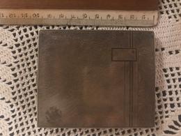 Antico Portasigarette In Alpacca Anni 50 In Ottime Condizioni Perfetto - Porta Sigarette (vuoti)