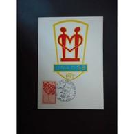 Carte Postale Premier Jour De 1972 - Cartes-Maximum