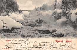 WALLINKOSKI  SUOMI FINLAND~PHOTO POSTCARD 1902 RUSSIA? POSTMARK 39626 - Finland