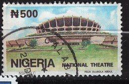 Nigéria, Timbre Oblitéré, Théâtre National - Nigeria (1961-...)
