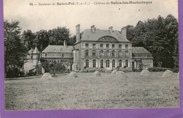 Environs De SAINT-POL - Château De SAINS-les-HAUTECLOQUE - - Autres Communes