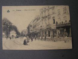 Namur  , Place De La Gare Feldpost 1918 - Namur