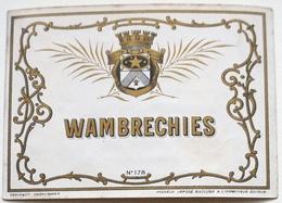 Etiquette Ancienne De GENIEVRE - WAMBRECHIES  (Dehon Valenciennes)  / étiquette Label /A6 - Etiquettes