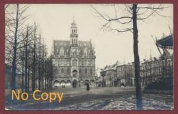 Audenarde = Oudenaarde Belgique Fotokaart  Carte Photo : Hôtel De Ville  Grand' Place Kiosque Musique Guerre De 1914-18 - Oudenaarde