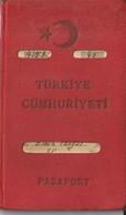 [Country/Documents] - Turkey - 1956 - Passport - Italy, USA - Used - Documenti Storici