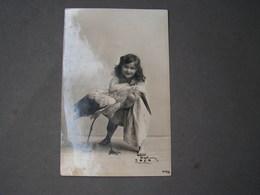 Schönes Mädchen Motiv, Mädchen, Portrait, Fillet, Girl, Child Berlin  Foto 1908 Mit Storch - Abbildungen
