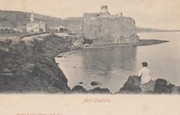 ACI CASTELLO-CATANIA--CARTOLINA NON VIAGGIATA  ANNO 1900-1904 - Catania