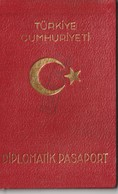 [Country/Documents] - Turkey - 1984 - Diplomatic Passport - Used - Documenti Storici
