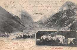BAD STACHELBERG SWITZERLAND-LINTHAL PHOTO POSTCARD 1900 POSTMARK 39630 - GL Glarus