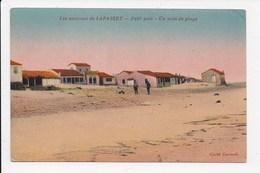 CPA ALGERIE LAPASSET Petit Port Un Coin De Plage - Algérie